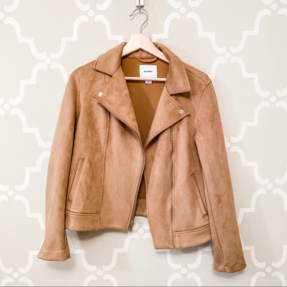 Old Navy Jackets & Blazers - Old Navy Suede Tan Jacket